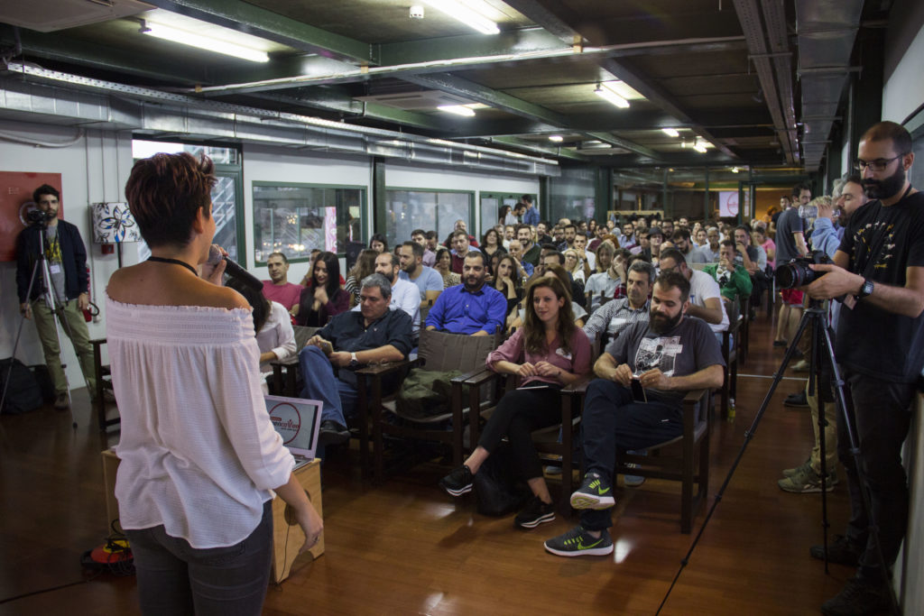 3ο Open Coffee Heraklion - people