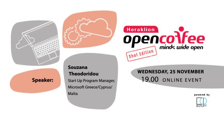 14o Open Coffee Heraklion // Shot Edition